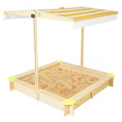 Kids Sandpit with Sun Safe Canopy